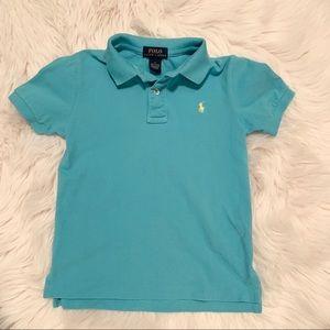 ☀️Kids Light Blue Polo Shirt